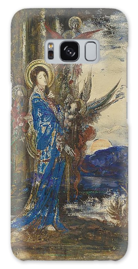 Gustave Moreau 1826 - 1898 French Galaxy S8 Case featuring the painting The Races by Celestial Images