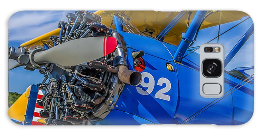 Acrobat Galaxy S8 Case featuring the digital art The Radial Engine by Capt Gerry Hare