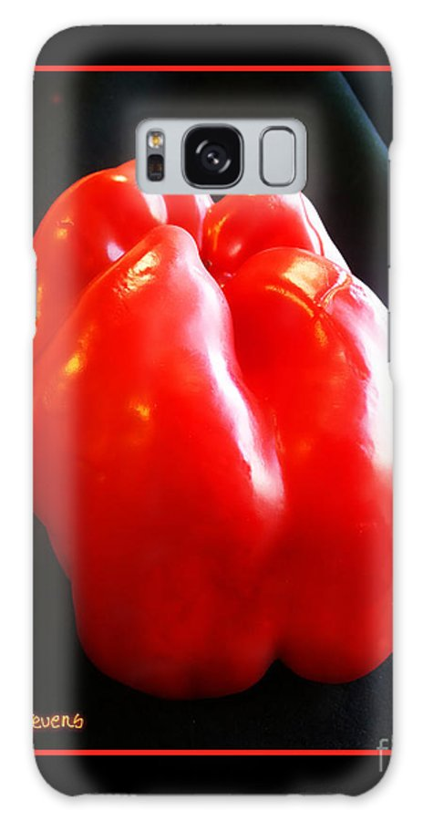 Red Pepper Photograph Galaxy S8 Case featuring the photograph The Red Pepper by Joseph J Stevens