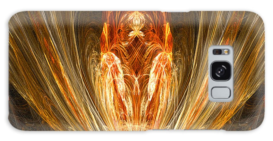 Christian Art Galaxy S8 Case featuring the digital art The Return Of The King by R Thomas Brass