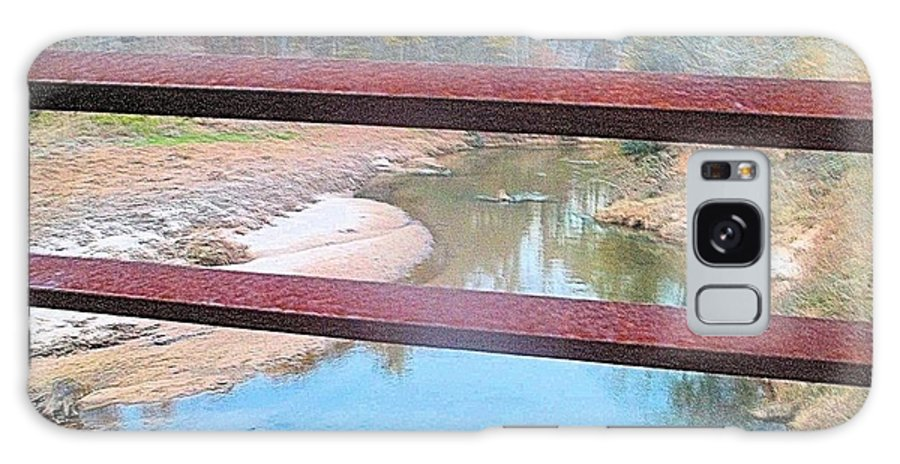 River Galaxy S8 Case featuring the photograph The River Through The Rails by James Potts