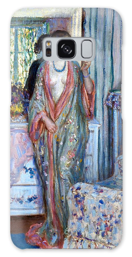 Sensuous Galaxy S8 Case featuring the digital art The Robe by Carl Frieseke