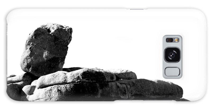 Jtnp Galaxy S8 Case featuring the photograph The Rocks Of Contrast by Carolina Liechtenstein