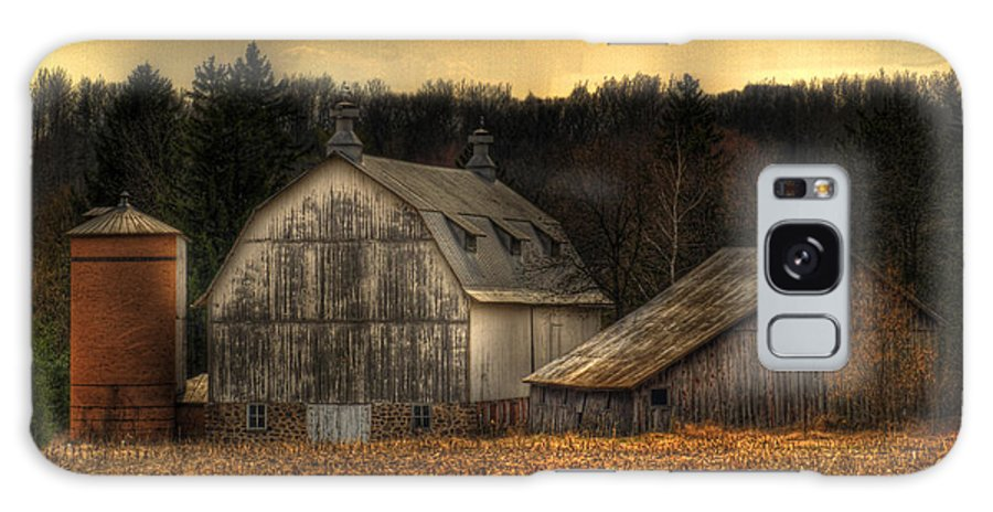 Farm Galaxy S8 Case featuring the photograph The Rose Farm by Thomas Young