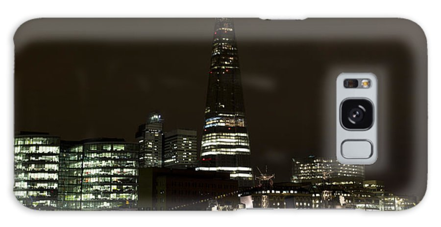Shard Galaxy S8 Case featuring the photograph The Shard And Southbank London by David Pyatt