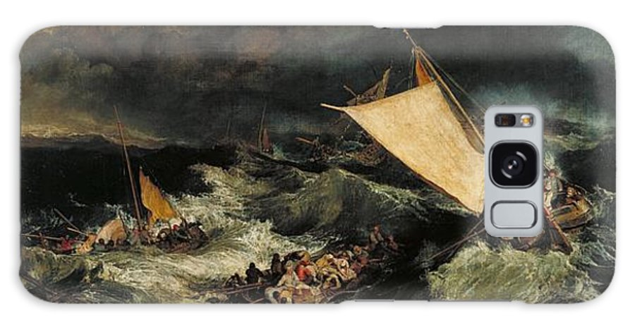 1805 Galaxy S8 Case featuring the painting The Shipwreck by JMW Turner