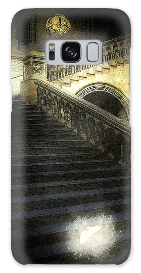 Architecture Galaxy S8 Case featuring the painting The Shoe Forgotten by RC DeWinter