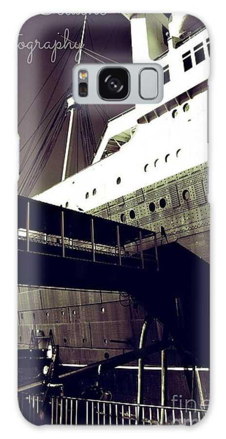 Galaxy S8 Case featuring the photograph The Side Of The Big Ship by Amy Delaine