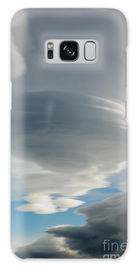 Puerto Natales Galaxy S8 Case featuring the photograph The Sky Over Puerto Natales In Patagonia Chile by Ralf Broskvar
