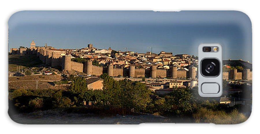 Avila Galaxy S8 Case featuring the photograph The Skyline Of Avila Spain by Farol Tomson
