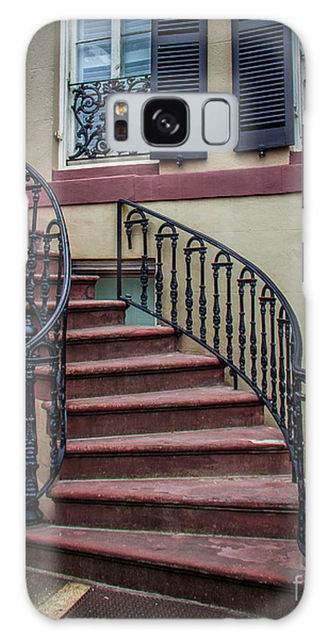 Stairs Galaxy S8 Case featuring the photograph The Steps by Perry Webster