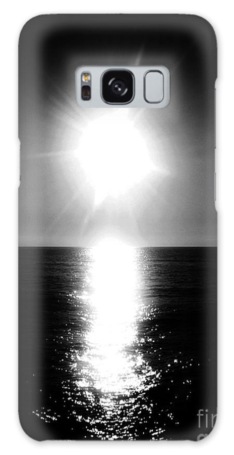 Black And White Photography Galaxy S8 Case featuring the photograph The Sunset Sunrise by Fei A