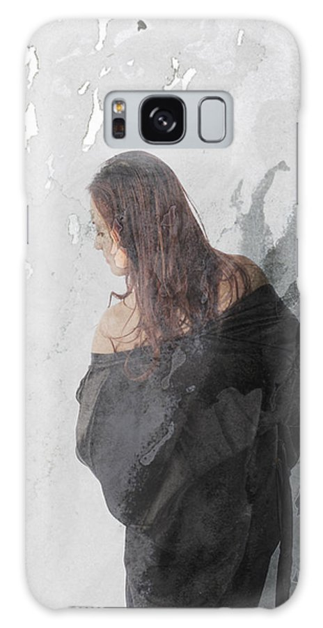 Brush Stroke Galaxy S8 Case featuring the photograph The Temptress by Ashley Rose