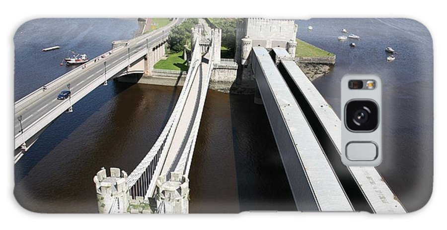 Bridges Galaxy S8 Case featuring the photograph The Three Bridges. by Christopher Rowlands