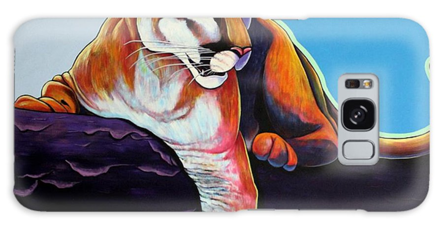 Wildlife Galaxy Case featuring the painting The Toll Collector by Joe Triano