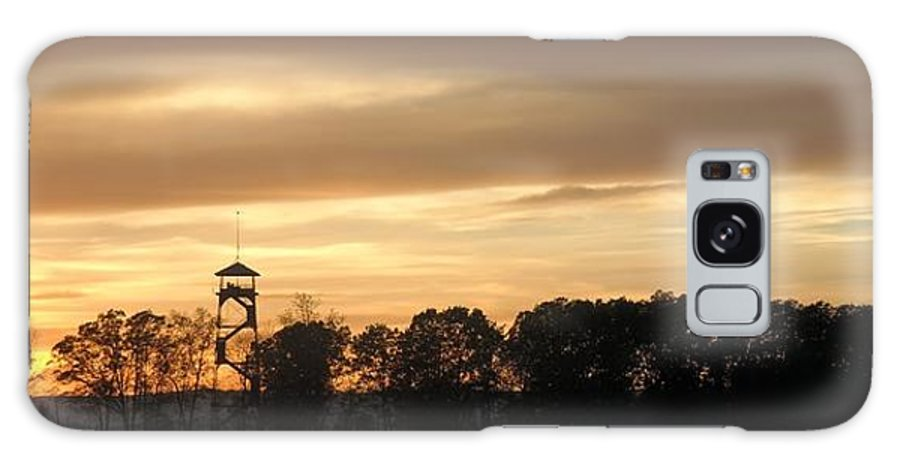 Gettysburg Galaxy S8 Case featuring the photograph The Tower At Gettysburg by Lanette Baker