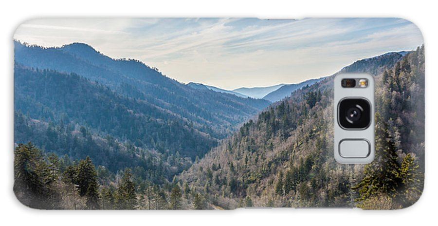 Smokey Mountains Galaxy S8 Case featuring the photograph The Valley by John Oliver