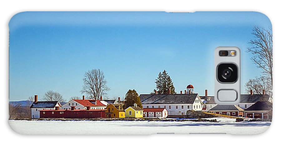 Canterbury Galaxy S8 Case featuring the photograph The Village by Robert Clifford