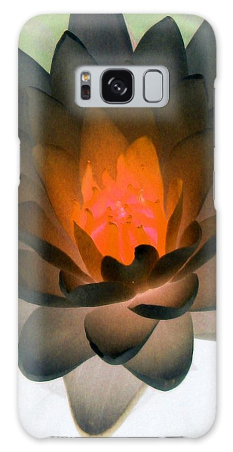 Water Lilies Galaxy S8 Case featuring the photograph The Water Lilies Collection - Photopower 1036 by Pamela Critchlow