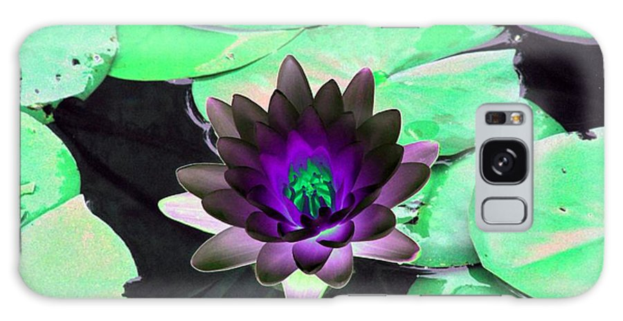 Water Lilies Galaxy S8 Case featuring the photograph The Water Lilies Collection - Photopower 1113 by Pamela Critchlow