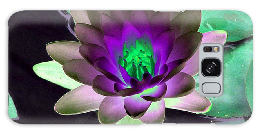 Water Lilies Galaxy S8 Case featuring the photograph The Water Lilies Collection - Photopower 1114 by Pamela Critchlow