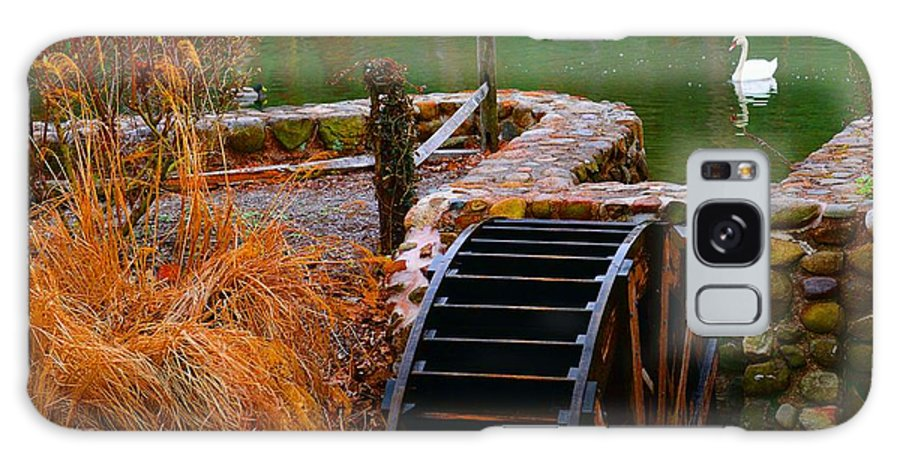 Paul Ward Galaxy S8 Case featuring the photograph The Water Wheel by Paul Ward