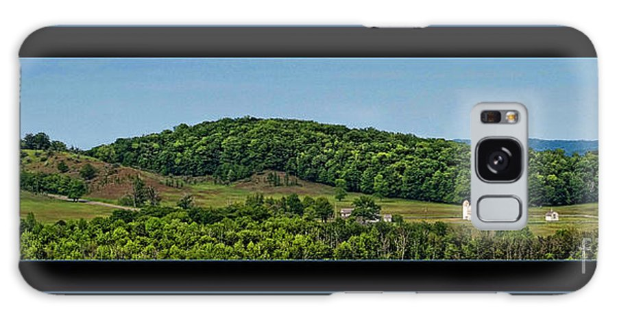 Landscape Galaxy S8 Case featuring the photograph The White Barn by Denise Boyce
