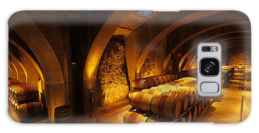 Wine Galaxy S8 Case featuring the photograph The Wine Cellar by Frank Martin