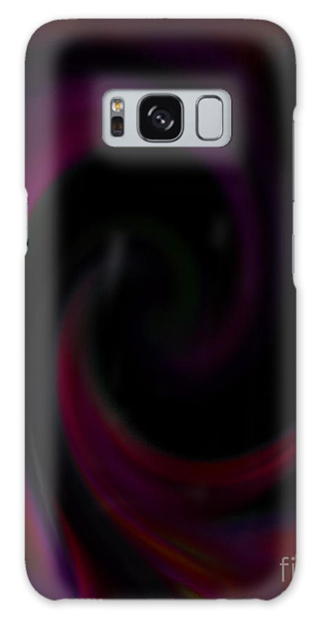 Digital Art Galaxy S8 Case featuring the digital art Theta Waves by Patricia Kay