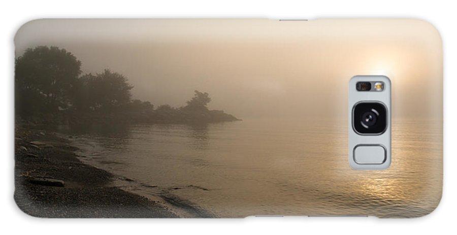 Thin Fog Galaxy S8 Case featuring the photograph Thin Fog And Sunshine by Georgia Mizuleva