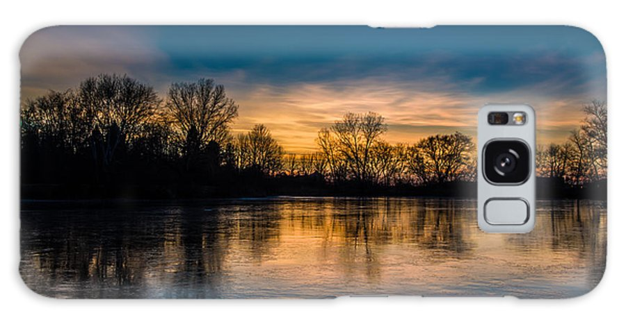 Lake Galaxy S8 Case featuring the photograph Thin Ice by Randy Scherkenbach