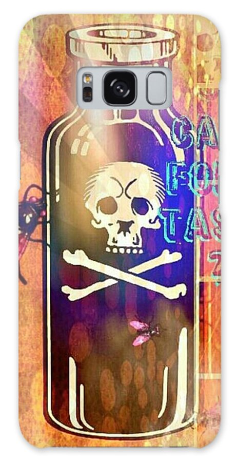 Pop Art Print Galaxy S8 Case featuring the digital art Thirsty by Jessica Lea