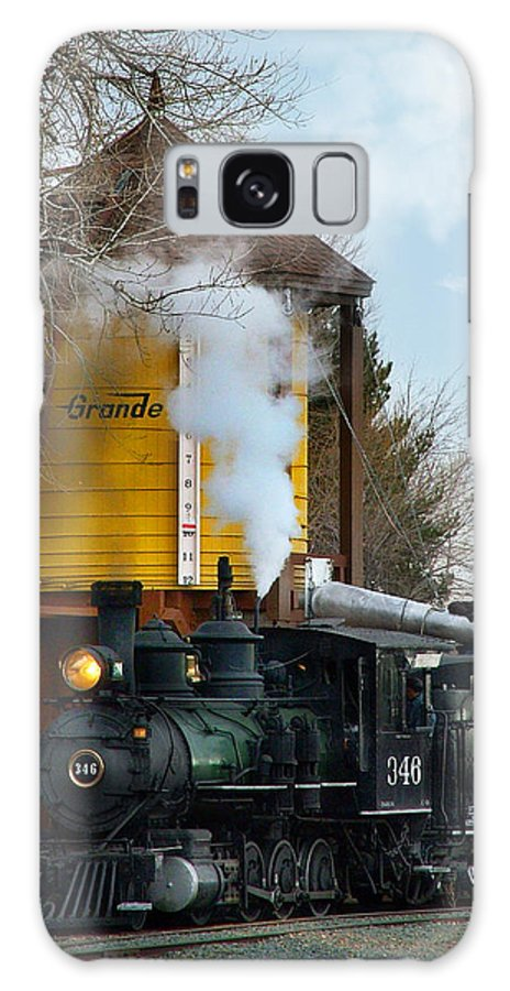 Steam Train Galaxy S8 Case featuring the photograph Thirsty by Ken Smith