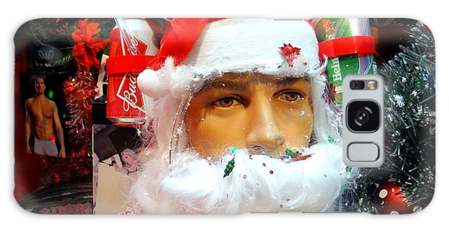 Santa Claus Galaxy S8 Case featuring the photograph Thirsty Santa by Ed Weidman
