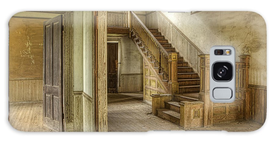 Floor Galaxy S8 Case featuring the photograph This Old House by Linda D Lester