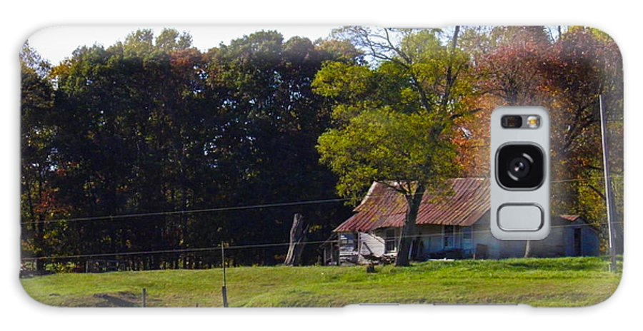 Trees Galaxy S8 Case featuring the photograph This Old House by Nick Kirby