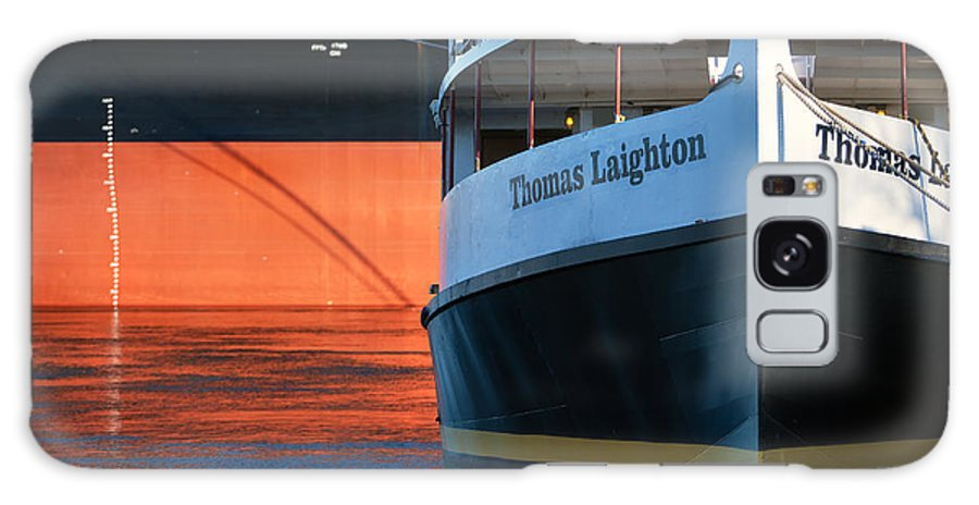 Thomas Laighton Galaxy S8 Case featuring the photograph Thomas Laighton In Port by Eric Gendron