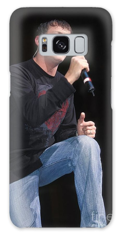 Performance Galaxy S8 Case featuring the photograph Three Doors Down - Brad Arnold by Concert Photos