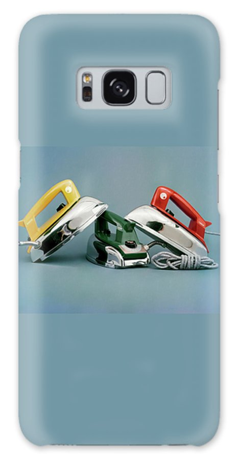 Studio Shot Galaxy Case featuring the photograph Three Irons By Casco Products by Richard Rutledge