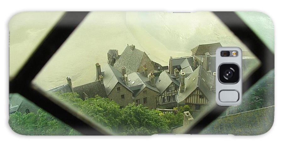 Le Mont St-michel Galaxy S8 Case featuring the photograph Through A Window To The Past by Mary Ellen Mueller Legault