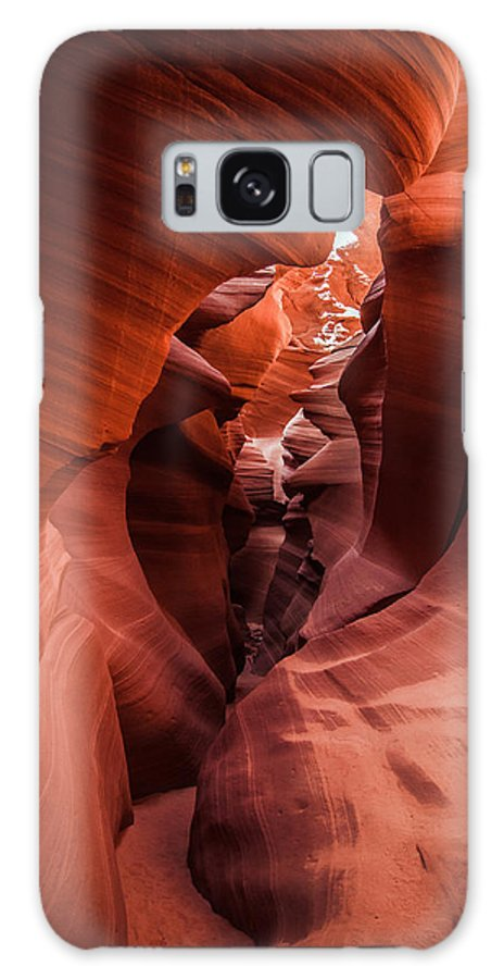 Page Arizona Galaxy S8 Case featuring the photograph Through The Slots by Erica Hanks