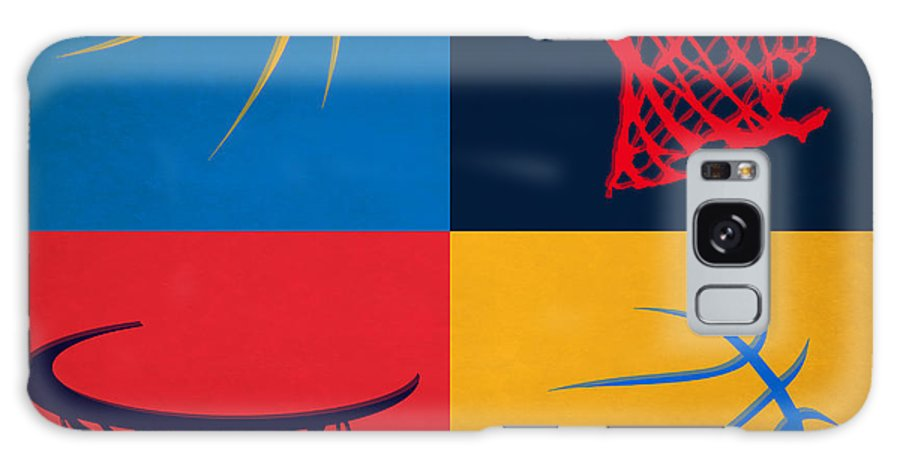 Thunder Galaxy S8 Case featuring the photograph Thunder Ball And Hoop by Joe Hamilton