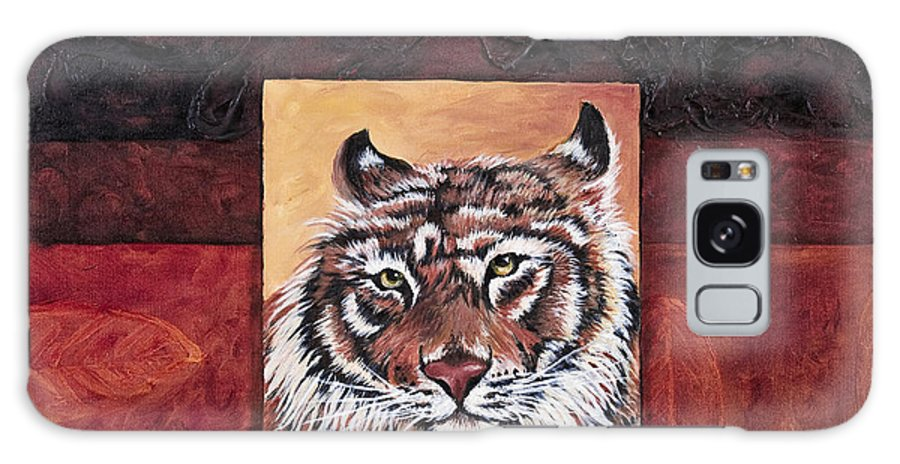 Animal Galaxy Case featuring the painting Tiger 2 by Darice Machel McGuire