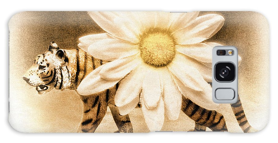 Tiger Galaxy S8 Case featuring the photograph Tiger Dream by Jeff Gettis