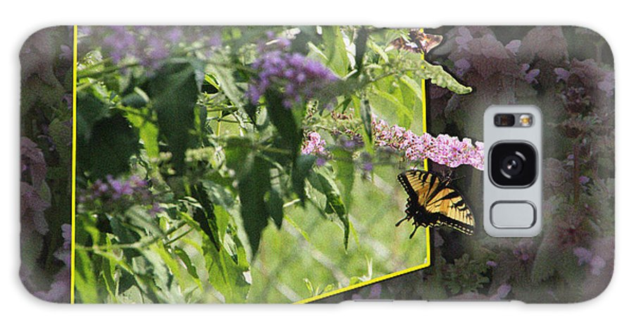 Butterfly Galaxy S8 Case featuring the photograph Tiger Swallowtail Oob-featured In Beautycaptured-oof-harmony And Happiness by Ericamaxine Price