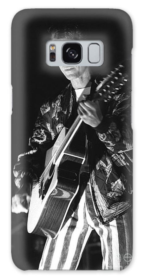 David Bowie Galaxy S8 Case featuring the photograph Tin Machine - David Bowie by Concert Photos