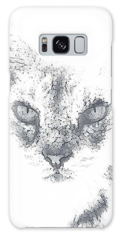 Cats Galaxy S8 Case featuring the photograph Tip by Renee McDaniel