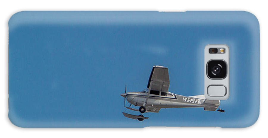 Cessna A185f Galaxy S8 Case featuring the photograph To The Glacier by Thomas Sellberg