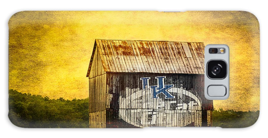 Barn Galaxy S8 Case featuring the photograph Tobacco Barn In Kentucky by Paul Freidlund