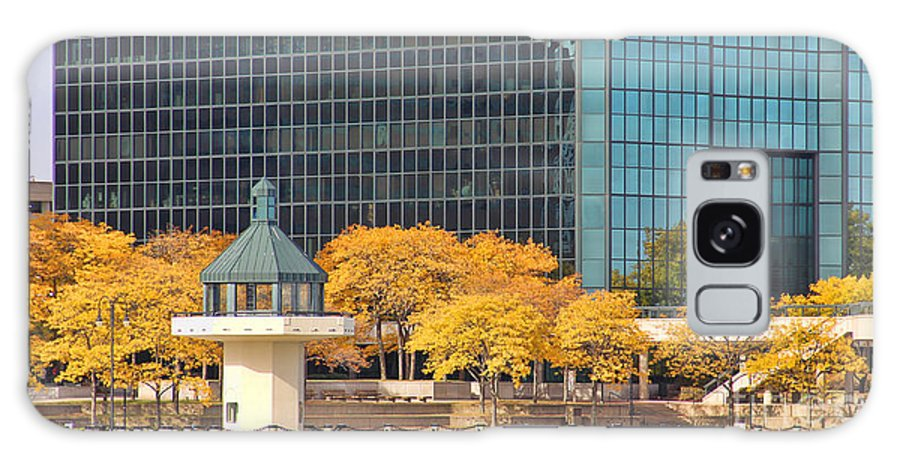 Downtown Toledo Galaxy S8 Case featuring the photograph Toledo Riverfront 4195 by Jack Schultz